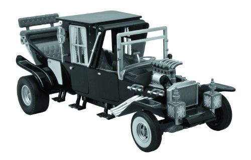 Diamond Select Toys The Munsters Koach Electronic Vehicle, Black and White, Scale 1/15