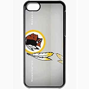 Personalized iPhone 5C Cell phone Case/Cover Skin 953 washington redskins Black