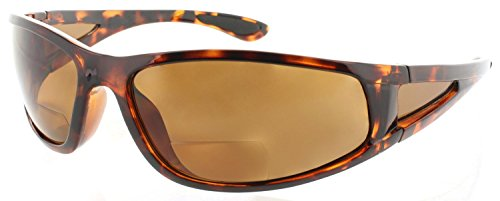 Fiore Oceanside Polarized Sunglasses Bifocal Sunglass Readers (3.00, Shiny - Sunglasses Readers Polarized
