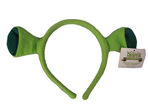 DreamWorks Shrek Costume Ears Adult Green (Gimp Halloween Costume)
