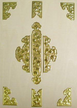 伊勢 - 宮忠 - 扉金具 電鋳製 八双9枚打 6寸5分
