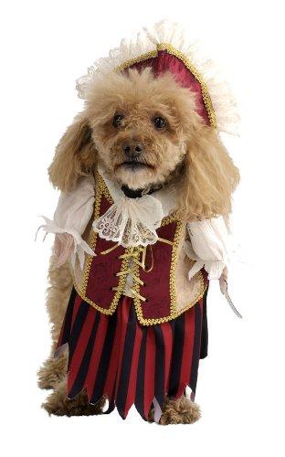 Rubie's Costume Co Pirate Queen Pet Costume, Small, Small - Pirate Queen Dog Costumes
