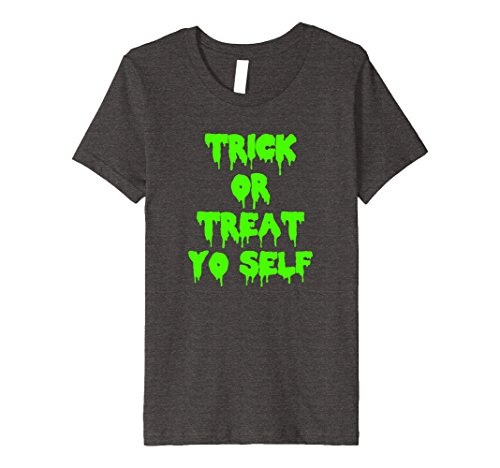 Funny Self Made Costumes Halloween (Kids Trick or treat yo self halloween costume T-shirt 4 Dark)