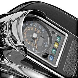 National Cycle Chrome Speedometer Cowl N7801 for Honda VTX1300C/R/S/T