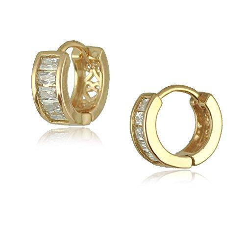 SASAMALL Elegant Filled Zirconia Earrings