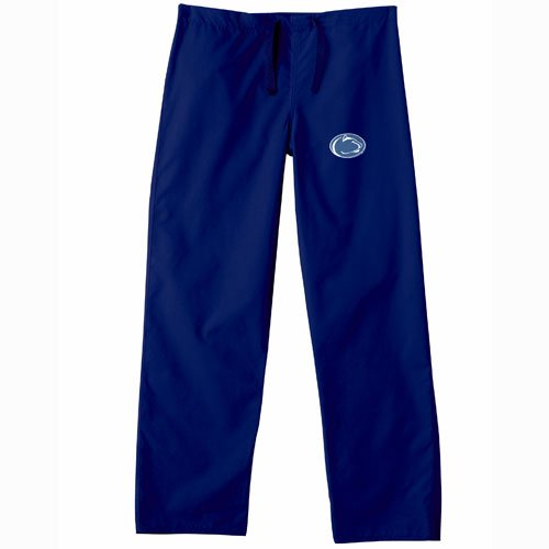 Penn State Nittany Lions Ncaa Classic Scrub Pant (Navy) (X Small) by Gelscrubs