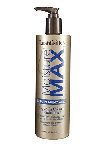 (Lustrasilk Moisture Max Leave-in Creme Conditioner, 12)