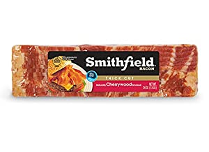 upc 024131023745 product image for SMITHFIELD BACON CHERRYWOOD SMOKED THICK CUT 24 OZ PACK OF 2 | barcodespider.com