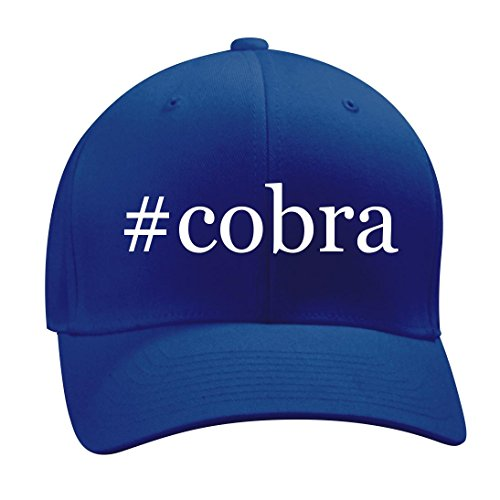 #cobra - A Nice Hashtag Men's Adult Baseball Hat Cap, Blue, Small/Medium
