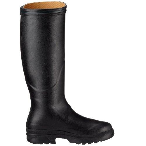 Aigle PARCOURS NOIR 85009 - Botas de agua de caucho unisex Negro