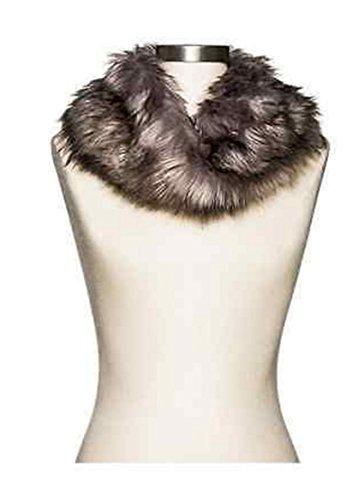 Merona Womens Faux Fur Infinity Scarf Snood (Merona Scarf)