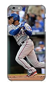 Crooningrose Case Cover For Iphone 6 Plus - Retailer Packaging Kansas City Royals Mlb Baseball 45 Protective Case
