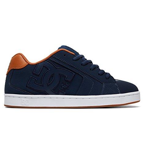 Shoes Baskets Net Navy Bleu white Dc Homme wqvwP
