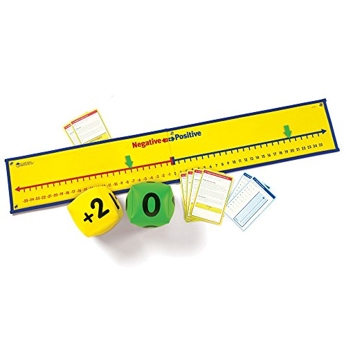 - Learning Resources Positive & Negative Number Line Activity Set