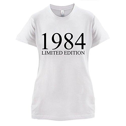 1984 Limierte Auflage / Limited Edition - 33. Geburtstag - Damen T-Shirt - Weiß - XL