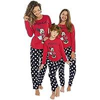 Pijama Infantil Disney 434 Evanilda Tamanho: 06 Disney Vermelho, Azul Marinho