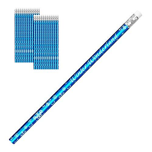 Winter Wonderland Holiday Pencils, Set of 24