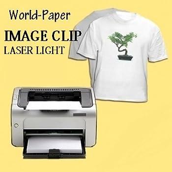 Laser Heat Transfer Paper For Laser Printers 8.5x11 (50 Sheets)