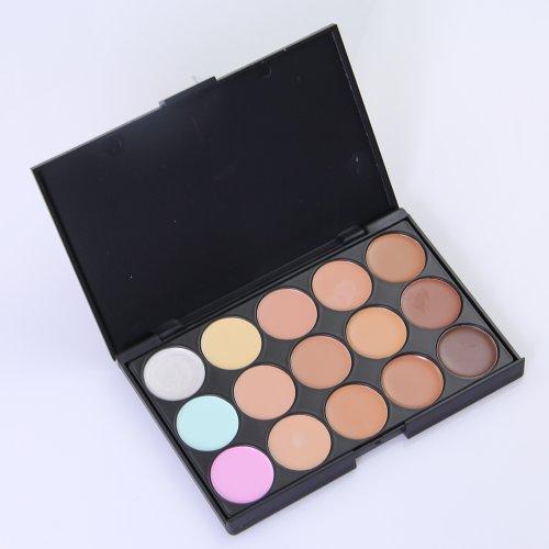 Xaestival Professional 15 Color Makeup Face Concealer Camouflage Palette Blusher Corrector Foundation Palette