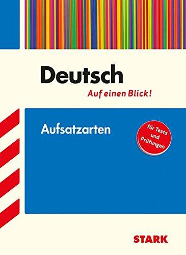STARK Deutsch   Auf Einen Blick  Aufsatzarten