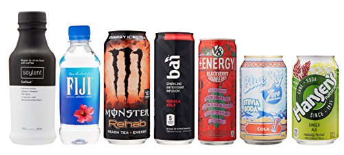 Beverage Sample Box, 7 or more samples ($9.99 credit on select products with purchase)