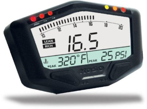 Koso BA029001 Boost Gauge With Wideband Air/Fuel Ratio by Koso