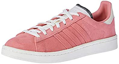 adidas Women's Campus Trainers, Active Red/Off White/Active Red, 5 US
