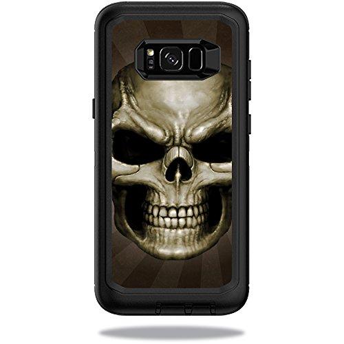 Skin+Decal+Wrap+for+OtterBox+Defender+Samsung+Galaxy+S8++Case+sticker+Skeletor