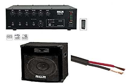 Ahuja 75w Amplifier And 100w Speaker With John Barrel Amazon In