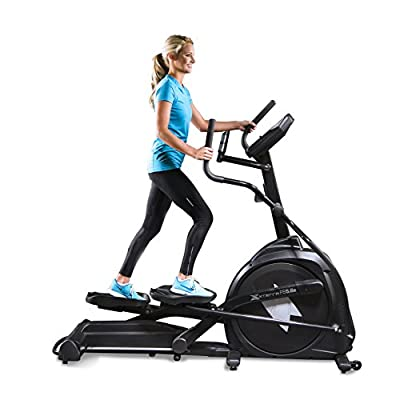 Xterra Fitness FS5.6e Elliptical Trainer, Black