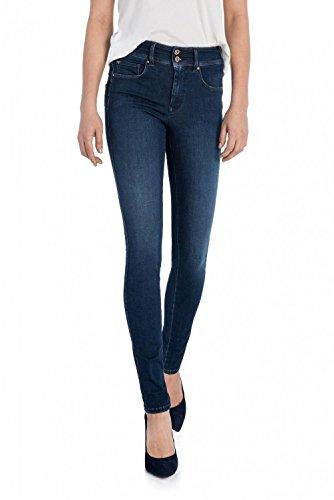 Salsa Jeans Secret Skinny en Denim Soft Touch Bleu
