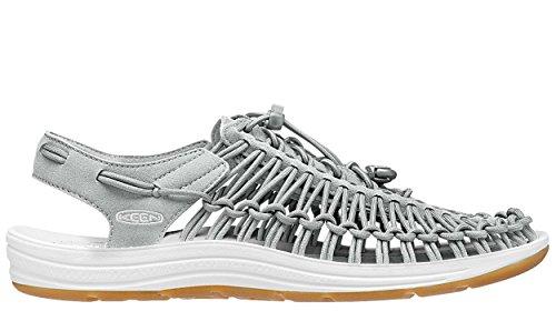 Vifs Femmes Sandale Uneek 8 Mm Gris Neutre / Blanc