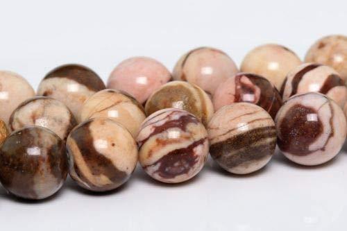 4mm Natural Zebra Jasper Gemstone Beads Grade Round Loose Beads 15'' Crafting Key Chain Bracelet Necklace Jewelry Accessories Pendants