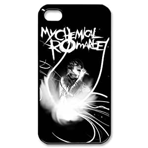 Custom My Chemical Romance Phone Case Cover Protection for iphone 4 4s TPU