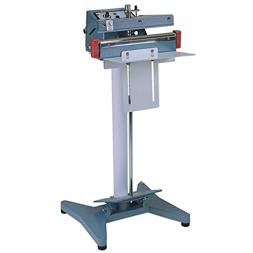 Heavy Duty Foot Operated 5mm Impulse Heat Sealer for 18'' Wide Bags and Tubing by AEI