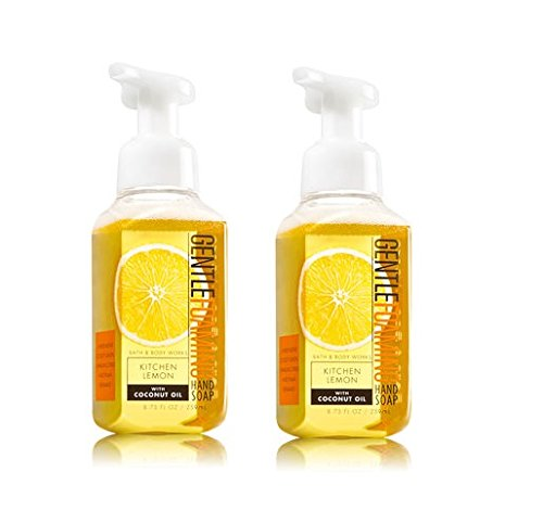 Bath & Body Works, Gentle Foaming Hand Soap, Kitchen Lemon (2-Pack)