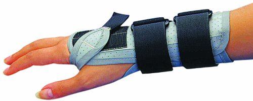 Hermell Products Vinyl Cock-up Right Wrist Splint, X-Large