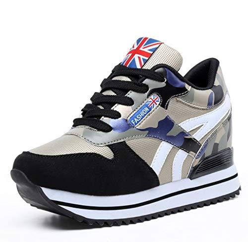 948e616449dc Camouflage Sneakers Inverno Autunno Da Moda Coreano Liangxie Nero Nuove  Scarpe Aumentare Casual E Donna tqXwx57g