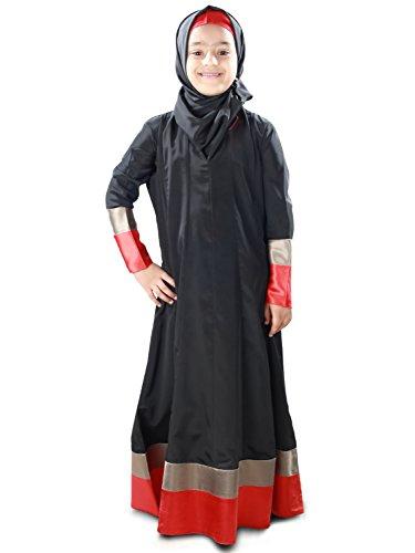 MyBatua-Eid-Wear-Beautifull-Black-Baby-Abaya-Dress-AY-335-K