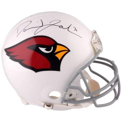 David Johnson Autographed Signed Memorabilia Arizona Cardinals Proline Authentic Helmet - Certified Authentic