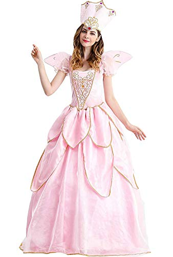 Women's Fairy Godmother Costume Halloween Retro Court