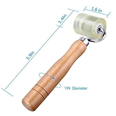 LUMITECO Audio Sound Deadening Application Rolling Wheel Roller Seam Roller