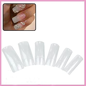 Nail Care, Manicure & Pedicure Health & Beauty Popular Brand Professional Natural False Nail Art Tips Acrylic Well Uv Gel All Size 0-9