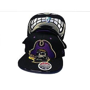 Zephyrs East Carolina Pirates NCAA Menace Snapback Hat