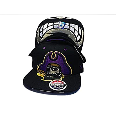 Zephyrs East Carolina Pirates NCAA Menace Snapback Hat