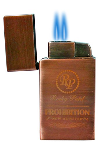 Rocky Patel Prohibition Dual Torch Flame Lighter
