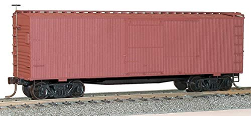(36' Double-Sheathed Wood Boxcar w/Steel Roof, Ends, Fishbelly Underframe - Kit -- Undecorated)