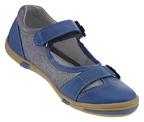 Donna Lamino Jeans Ballerine Lamino Ballerine Blu 7xSwPwt8