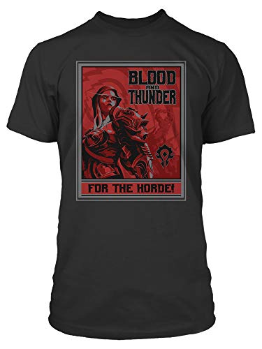 JINX World of Warcraft Horde Warfront Men's Gamer Tee Shirt