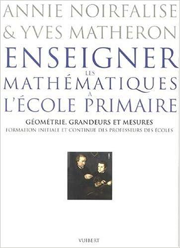 Amazon Fr Enseigner Les Mathematiques A L Ecole Primaire